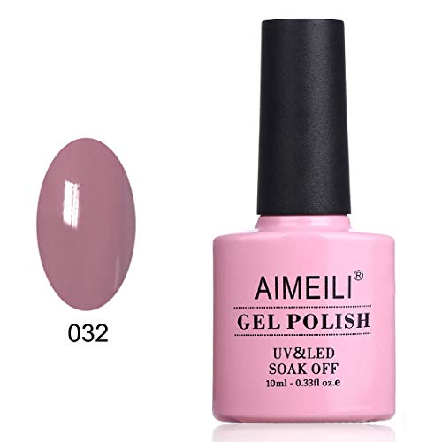 AIMEILI Soak Off UV LED Gel Nail Polish - Eur So Chic (032) - Single Gel