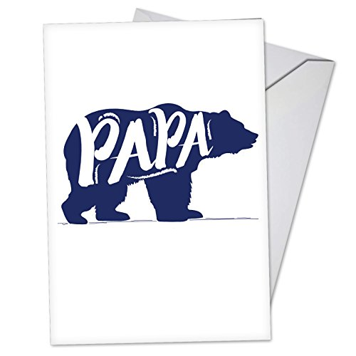 C3460FDG Papa Bear: Hysterical Father's Day Card, with -