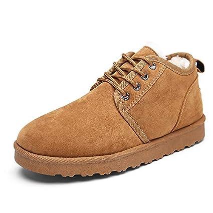 3307ba3f8dc23 Amazon.com: Best Quality Hah Snow Boots Men Fur Warm Winter Shoes ...