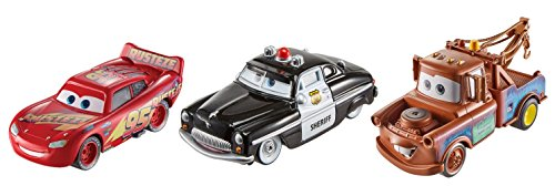 Disney Pixar Cars Die-cast 3-Pack ()