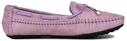 FangstoBoat Shoes - zapatilla baja mujer morado