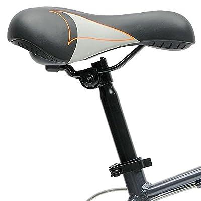 Critical Cycles Barron 21 Speed Lady's Hybrid Bike with Step-Thru Frame, Powder Blue