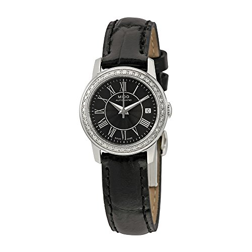 Mido Baroncelli III Black Dial Automatic Ladies Watch M0100071605320