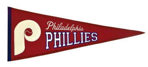 (MLB Philadelphia Phillies Medium Throwback Pennant)