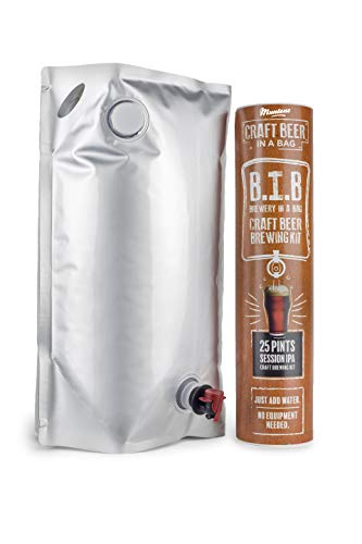 Muntons Craft Beer in a Bag Beer Making Kit | Craft Beer Brewing Kits for Home Brew | Session IPA - Beer Kit with No Equipment Needed, Just Add Water, 25 Pints Brewed and Ready to Drink in 30 Days (Best Session Ipa Beer)