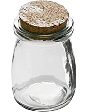 Hosaire 1X Deseando Botella Botella de Deriva Florero de Cristal Jarrón Hidropónico Forma de Bola Clara Decoración de Cristal para Jacinto Decoración del Hogar de Boda,Cuadrado Size 5.5 * 7.5CM