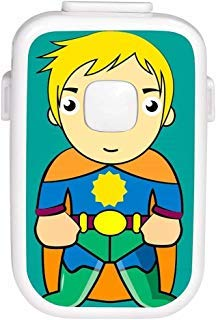 Smart Bedwetting Alarm for Deep Sleepers & Children With Interchangeable Stickers 8 Loud Tones Lights and Vibration; Full Featured Low Cost Bed Wetting Enuresis Alarm to Stop Bed-Wetting V2