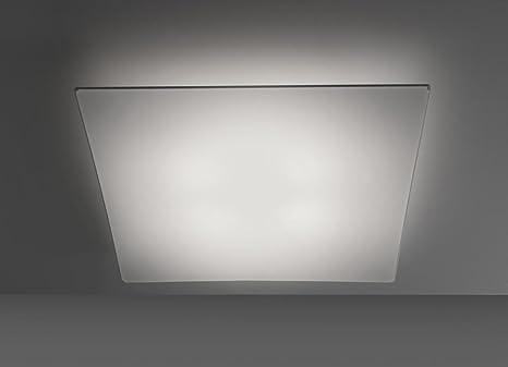 ANPERBAR - Lámpara De Techo Plafón Tela Elástica Line 50x50 Color Blanco