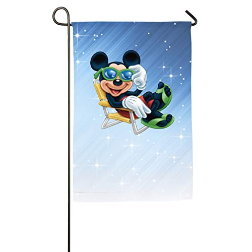 FOOOKL Cute Mickey Home Family Party Flag 100 Hipster Welcomes The Banner Garden Flags