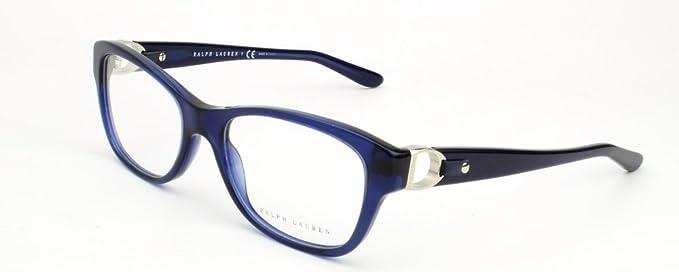 Amazon.com: Ralph Lauren RL6113Q Eyeglass Frames 5033-52 - Dark Blue ...