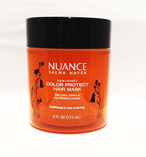 Price comparison product image Nuance Salma Hayek Raw Honey Color Protect Hair Mask 6 Fl Oz