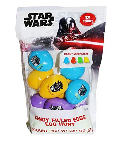 Star Wars Candy Filled Eggs, Pack of 12]()