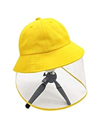 OneCut Removal Kids Fisherman Hat for 2-4 Years Old Children Yellow