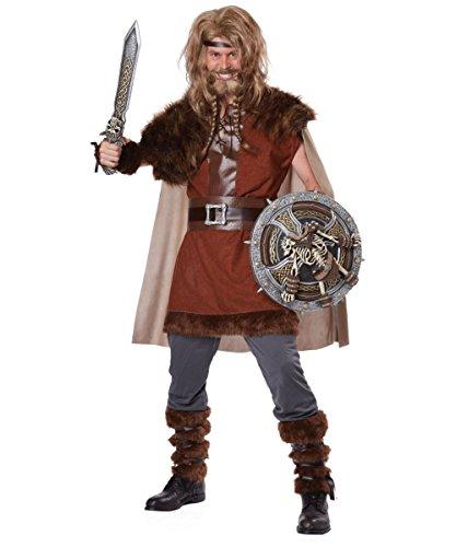 Mighty Viking Costume - Small/Medium - Chest Size 38-42