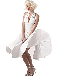 Sexy Marilyn White Dress Costume