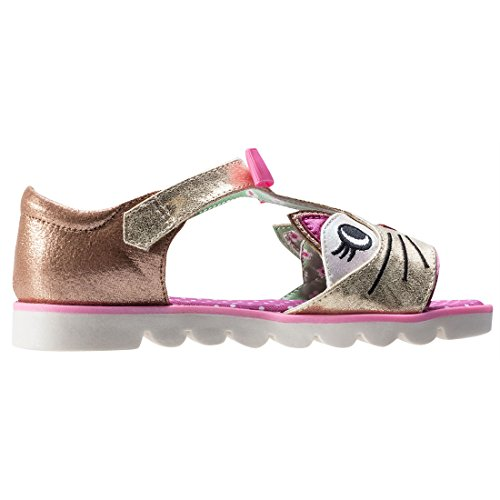 Irregular Choice Kitty - Sandalias Niñas dorado