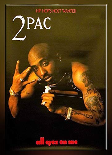 "VFS Poster Tupac Shakur 12""x18"" All Eyez On Me Poster 2Pac Eyes Poster Rolled from VFS Poster"