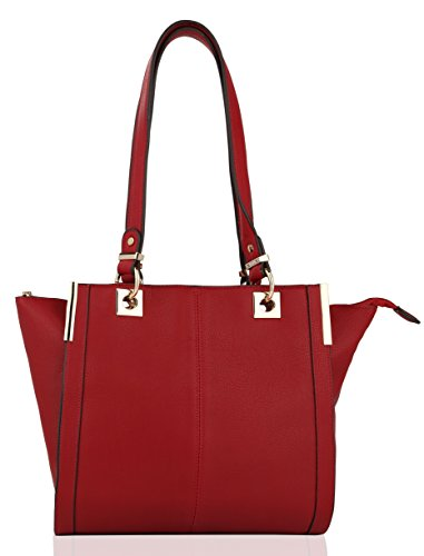 Designer Handbag ~ Designer Purse ~ Crossbody Bag For Women ~ Purse ~ Womens Crossbody ~ Mkf Bag ~ Crossbody Purse ~ Mkf Handbag ~ Mkf Collection Azelia Designer Handbag (red)