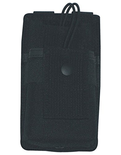 Ultimate Arms Gear Stealth Black MOLLE Radio Pouch For Midland Radios by Ultimate Arms Gear