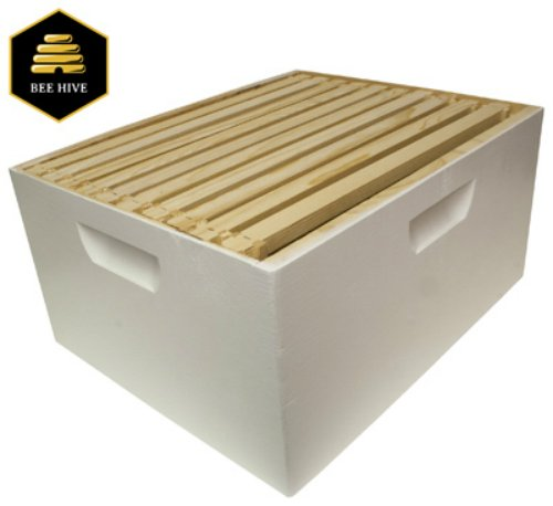 Lane Honey - Harvest Lane Honey Deep Brood Box, White