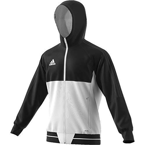 Adidas Uomo Giacca Pre Tiro17 Noir Jkt blanc xI8PISqrw