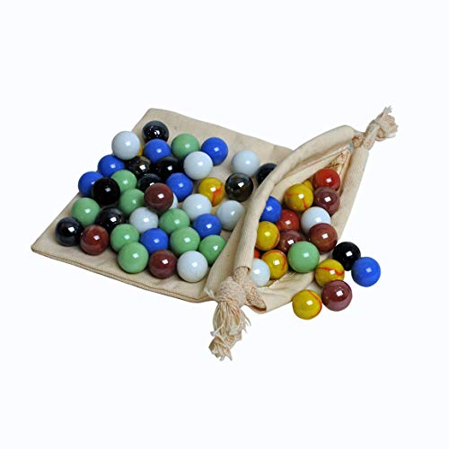 (WE Games Replacement Glass Marbles for Chinese Checkers)