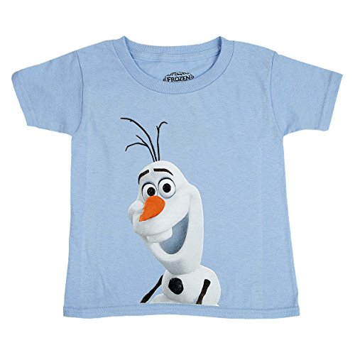 Disney Frozen Little Boys' Smiling Olaf Tee