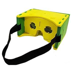 "Andoer® IMAX Gafas 3D VR EVA Versión Soft Portátil Virtual Reality Vídeo con Interruptor Magnético Cinturón Mano para Todos 3.5 ~ 6.0 teléfonos inteligentes """