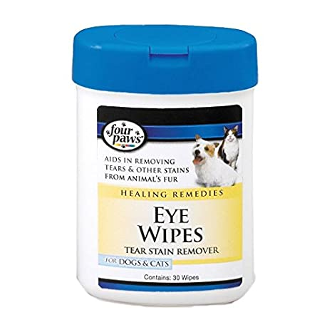 Four Paws Eye Wipes for Dogs & Cats 25 Wipes - Pack of 6 Snooki Ultra Dark Leg Bronzer W/ Hair Growth Inhibitors 6 OZ