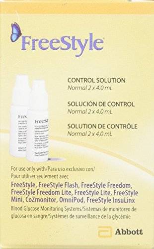 Lite Solution (Freestyle Glucose Control Solution Vial, 2 Count)