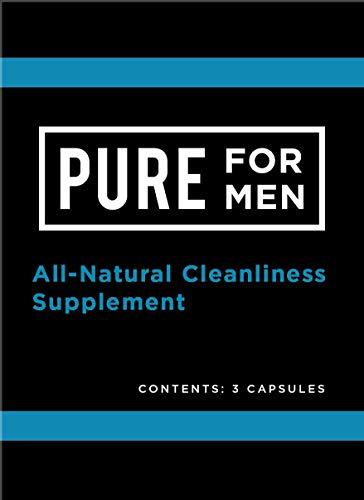 Pure for Men – The Original Vegan Cleanliness Fiber Supplement – Proven Proprietary Formula (Single Serving)