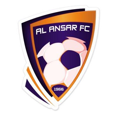 Al Ansar FC - Saudi Arabia Football Soccer Futbol - Car Sticker - 5