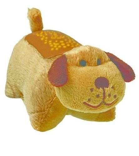 Dream Lites Pillow Pets Mini - Snuggly Puppy (Brown) - As...