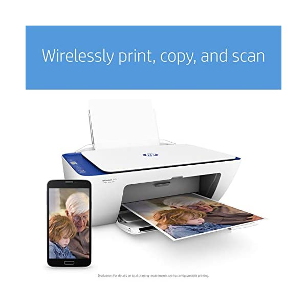 HP DeskJet 2676 All-in-One Ink Advantage Wireless Colour Printer 6