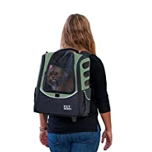 Pet Gear I-Go2 Escort Roller Backpack for Cats and Dogs up to 15-Pounds, Sage