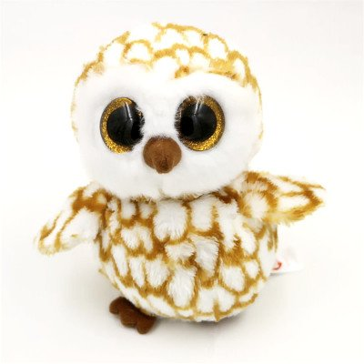TorDen Cute Big Eyes Plush Toy Soft Baby Stuffed Animal Toy Puppet Doll (Owl)