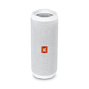 JBL FLIP 4 – Waterproof Portable Bluetooth Speaker – White