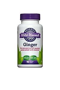 Oregon's Wild Harvest Ginger - Organic - Non-GMO - 90 caps (Pack of 2)