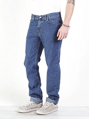 Basic A Lavaggio Gamba Jeans 700 Wash Medio Dritta stone Carrera Blu Uomo aqEwFE5