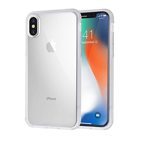 iPhone X Case, Anti Gravity Relieves Hands Protective Phone Cover Case, Shock-Absorption Transparent Silicone Phone Case for iPhone X (Clear)
