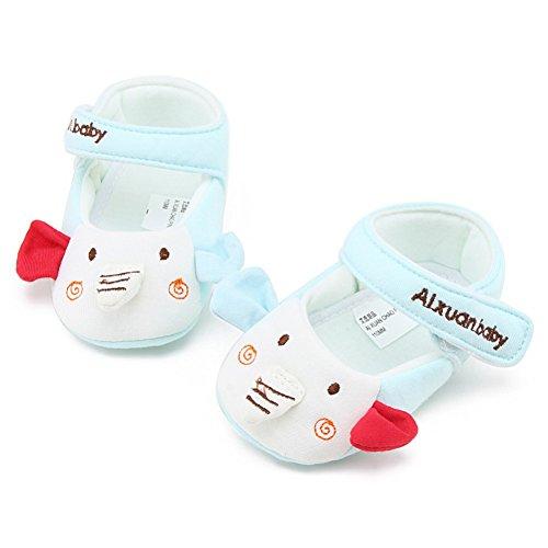 BOBORA Caramelo Lindo Bebe Oso Zapatos De Nina A4
