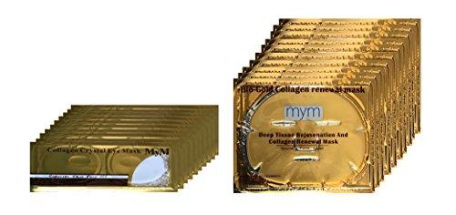 MyM 24k Gold Collagen Crystal Mask for Deep Tissue Rejuve...