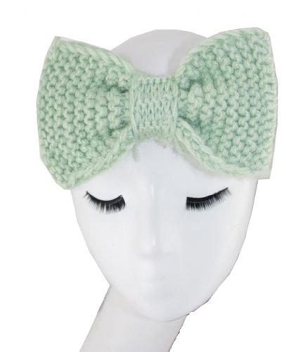 UPC 671784488423, Wiipu Knitted BOW Headband Ear Warmer Winter Hair Bands (N71)green