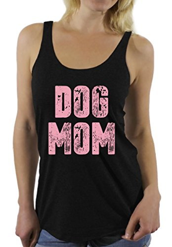 Awkward Styles Women's Dog Mom Racerback Tank Tops Dog Lover Quote Mom of Dogs Gift for Mom (Medium, Dog Mom Top) ()