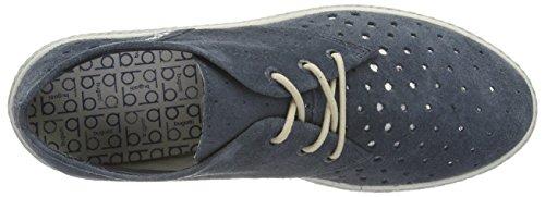 Bugatti Kvinners Blonder-up Sko Blå, (jeans) J97033-455 Jeans