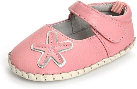 MK MATT KEELY Baby Girls Boys Genuine Leather Shoes Infant First Walker Sneakers