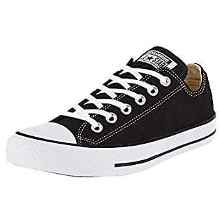 Converse Chuck Taylor All Star Core Ox, Black, Size 4