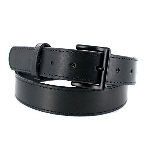 "Hanks A2760 Leather Tactical Belt – 1.5"" - Black - Size 36 (Hanks Clothing)"