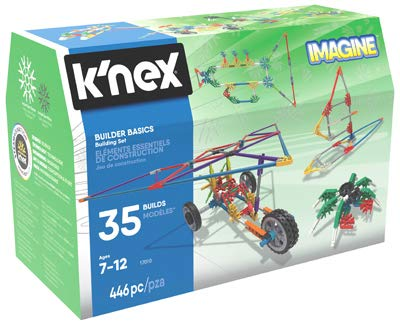 Knex Partnership Group 238573 Builder Basics Building Set with Mini Chest Box44; 440 Piece