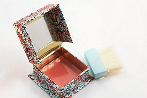 Benefit Cosmetics Blusher Blush Galifornia .08 Ounce Sunny Golden Pink Mini Travel Size